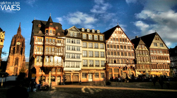 romerberg y catedral de frankfurt