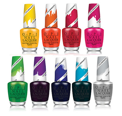 Christmas Gift Guide with the OPI Color Paints Full Collection