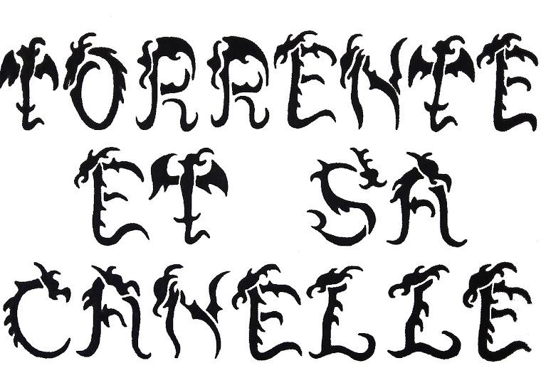 033 - 28032005 - CALLIGRAPHIE - TORRENTE ET SA CANELLE