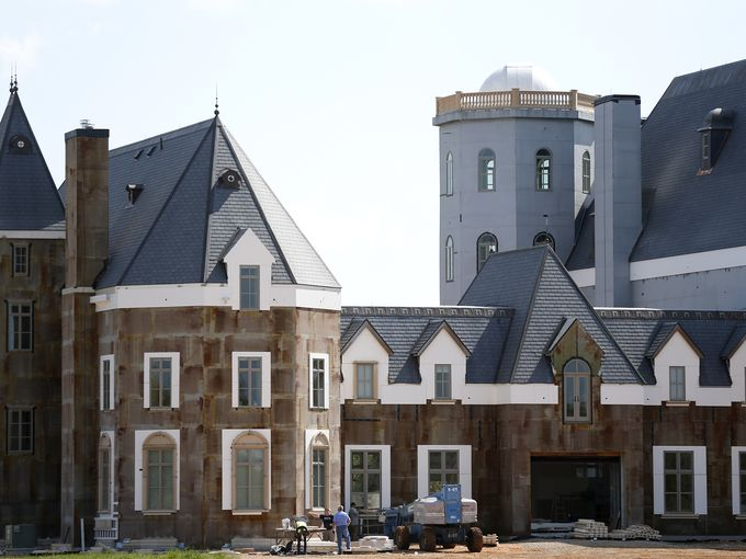 Insulated concrete form icf company 2015 update story for Pensmore mansion