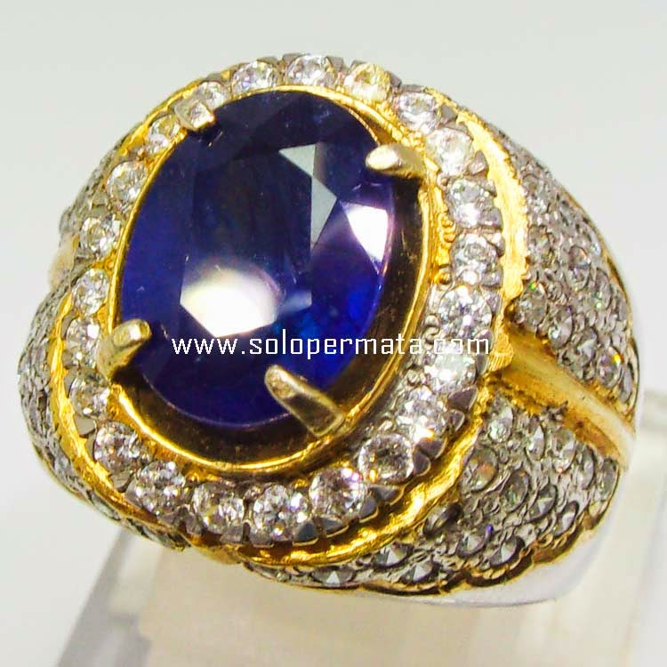 Batu Permata Royal Blue Sapphire - SP 005