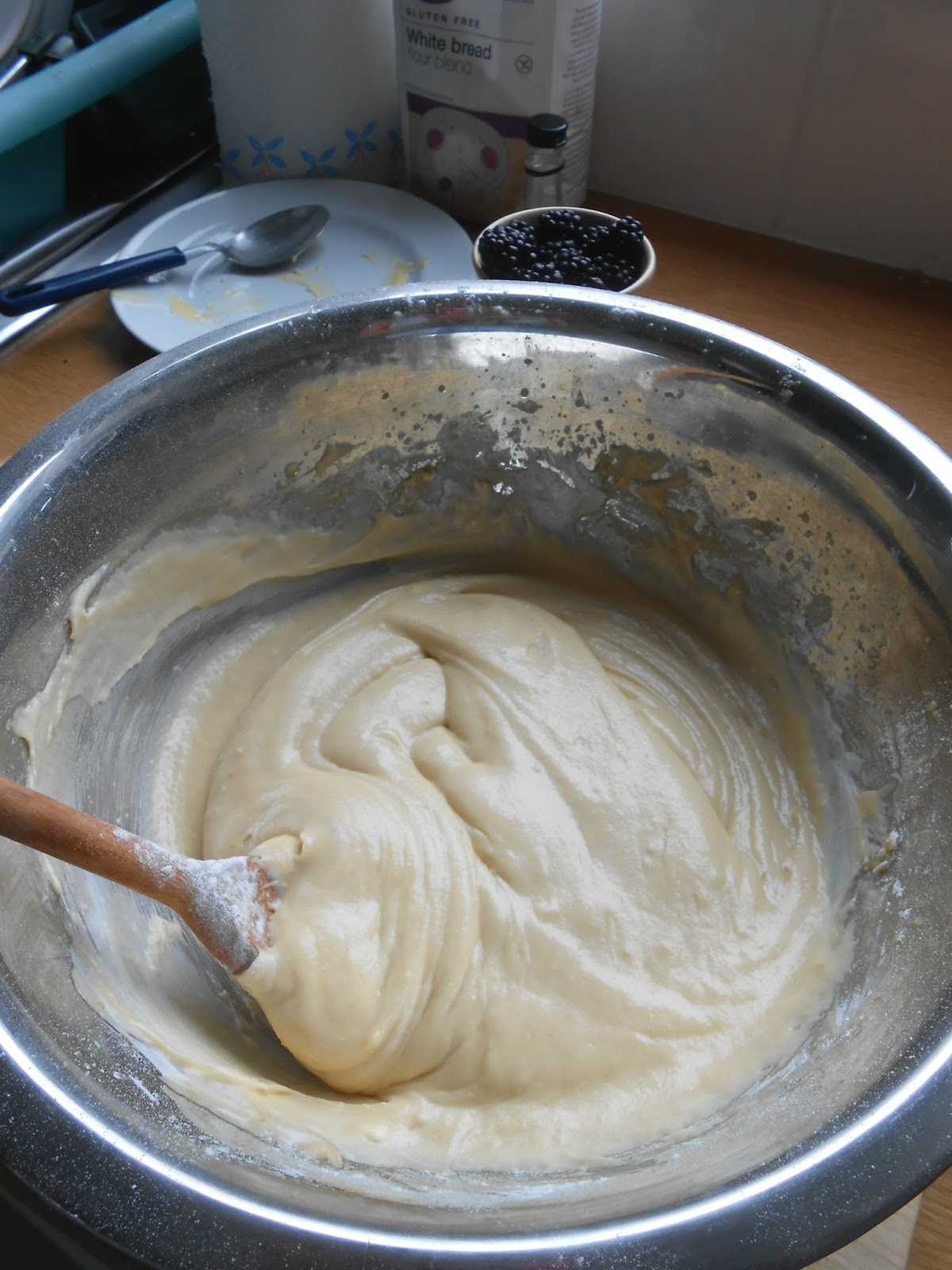 Cake Mix In Bowl