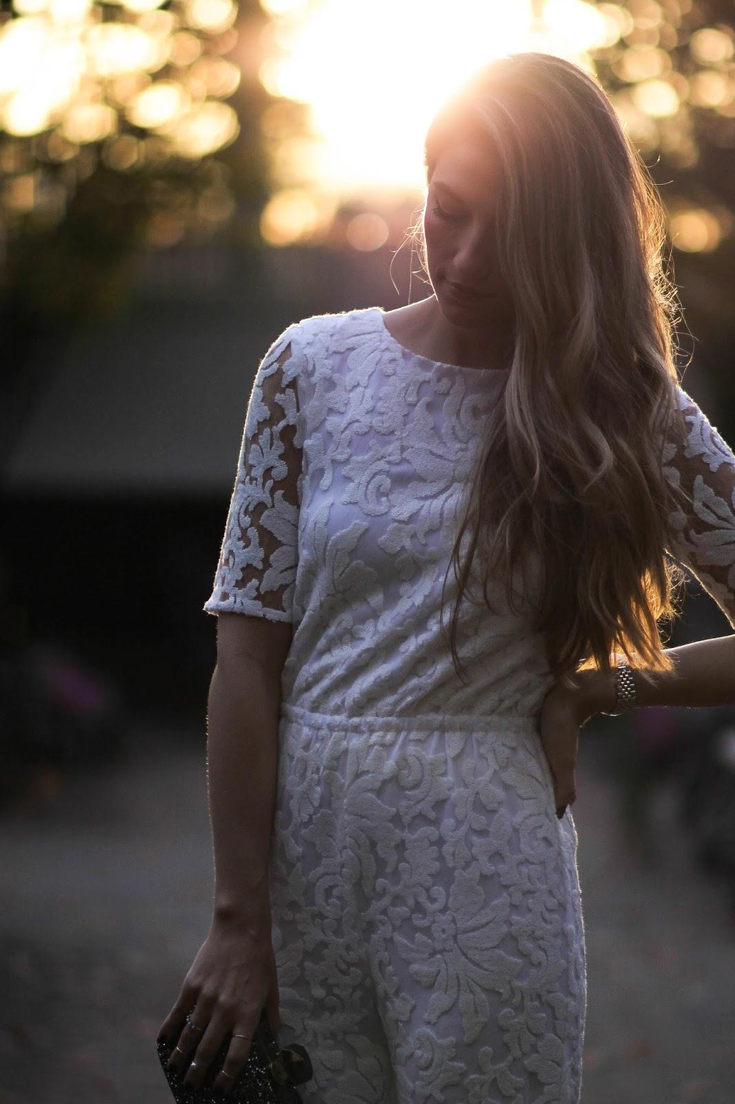 diane von furstenburg white lace