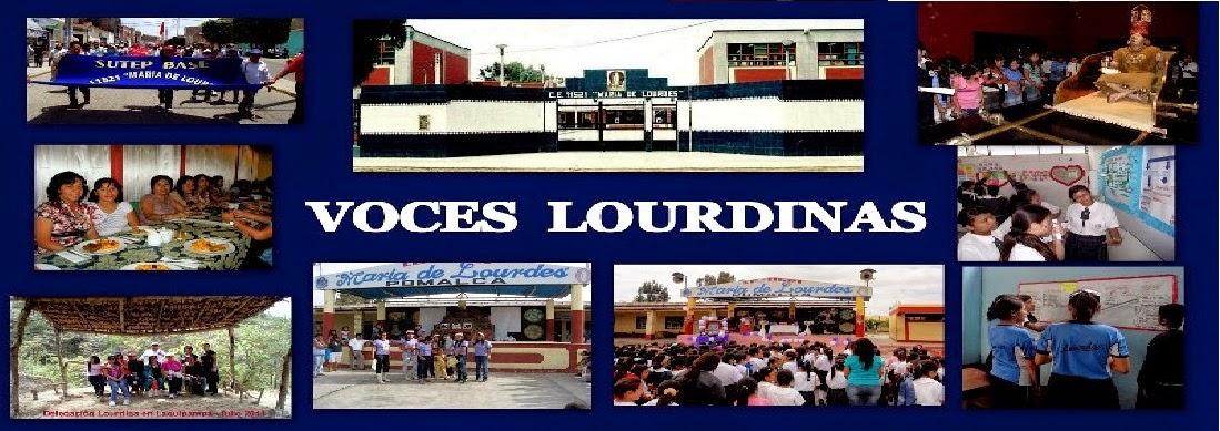 Voces Lourdinas