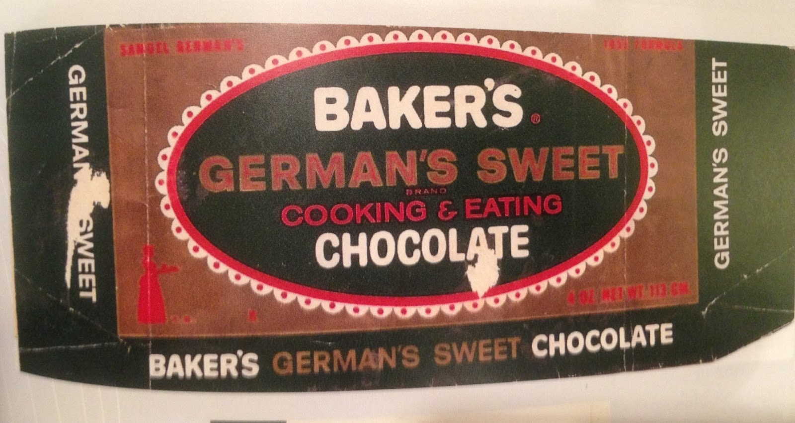 Southern Accents: Mama's German Chocolate Cake
