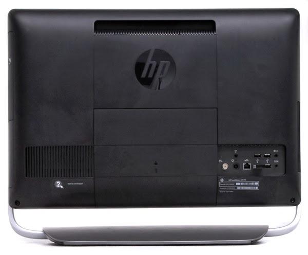 Вид сзади моноблока HP TouchSmart 520