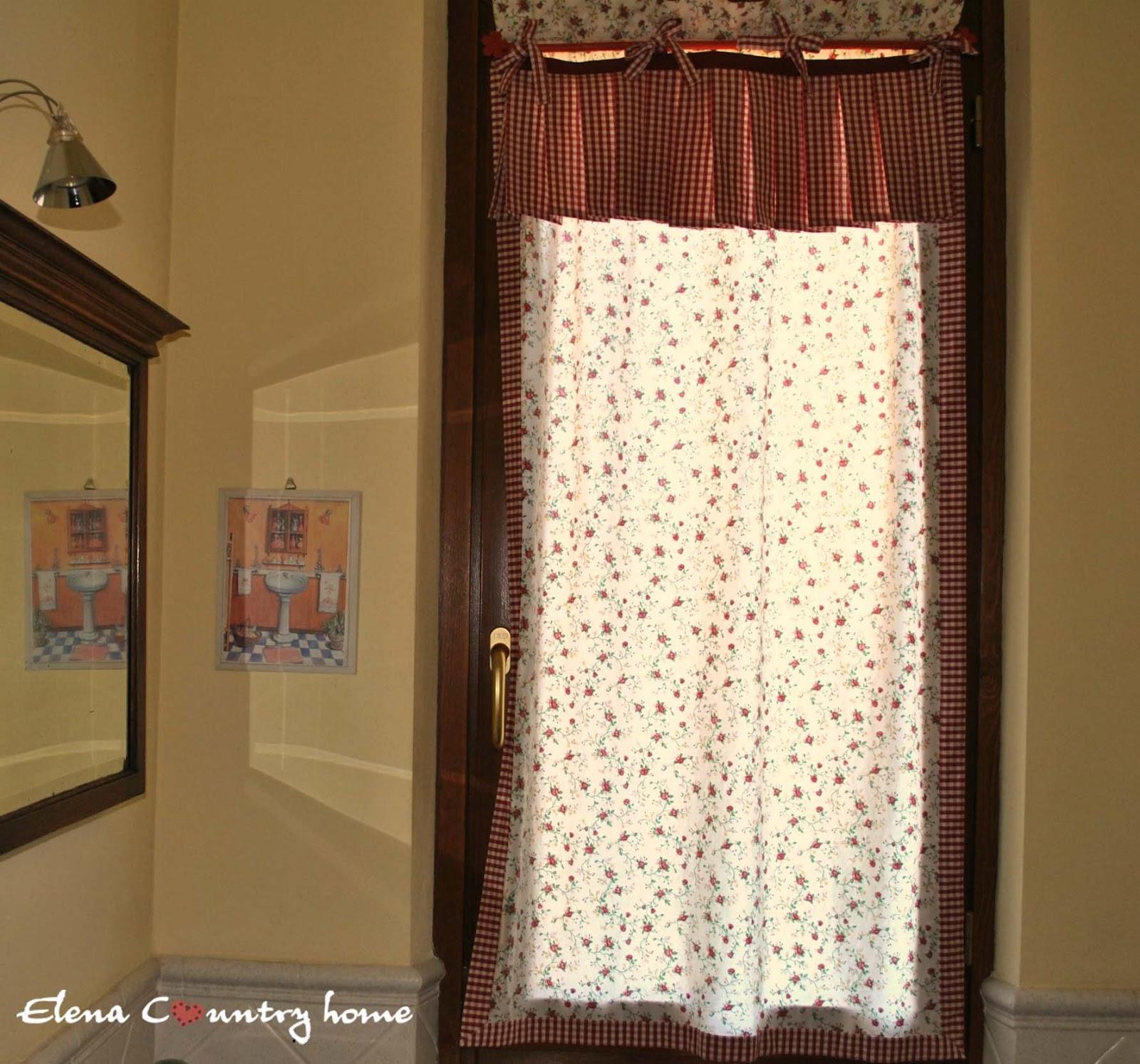 Elena country home il bagno - Tendine per bagno ...