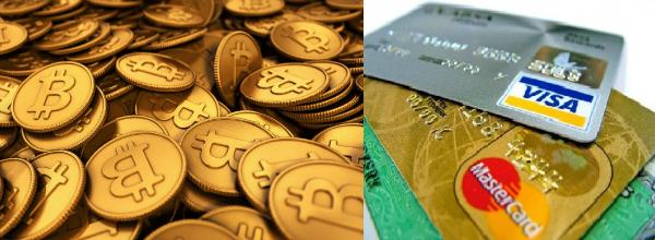 Bitcoin  Cartão de crédito