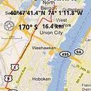 GPS Compass Mapborder