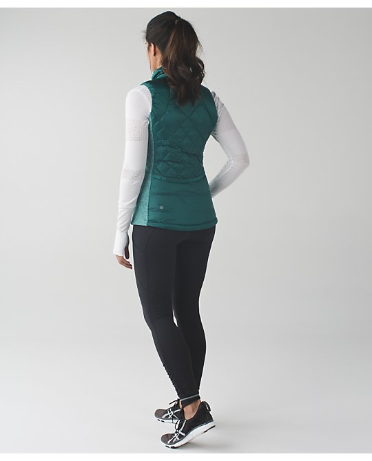 lululemon down-for-a-run-vest forage teal
