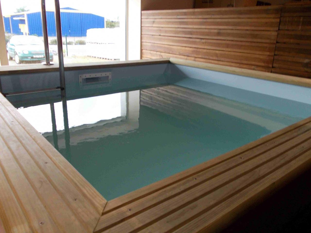 Le blog de la piscine bois juin 2013 for Piscine carre bois
