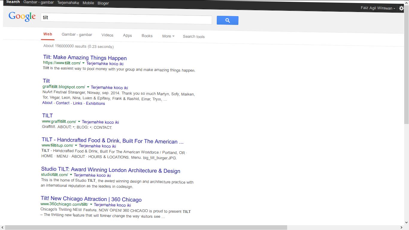 trik unik google search