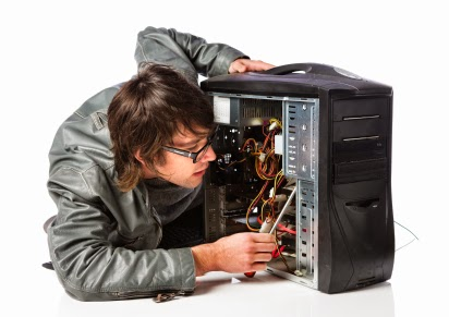 Repairing a desktop computer