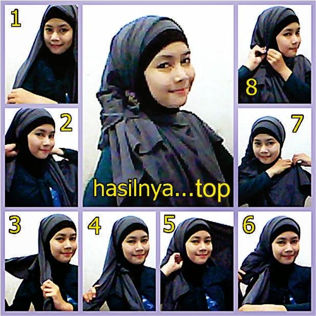 Tutorial Hijab 6