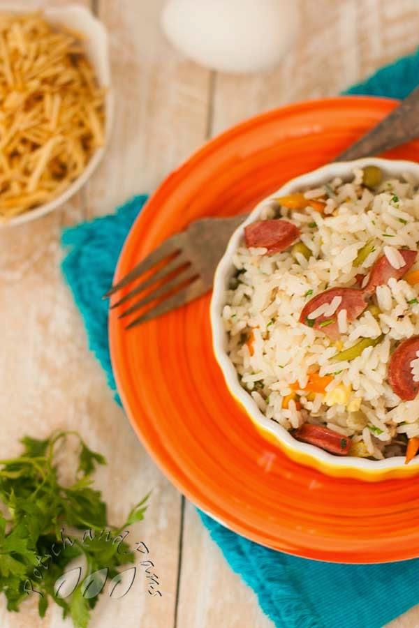 Fried rice brazilian way