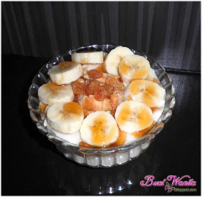 Yogurt soya dimakan bersama pisang
