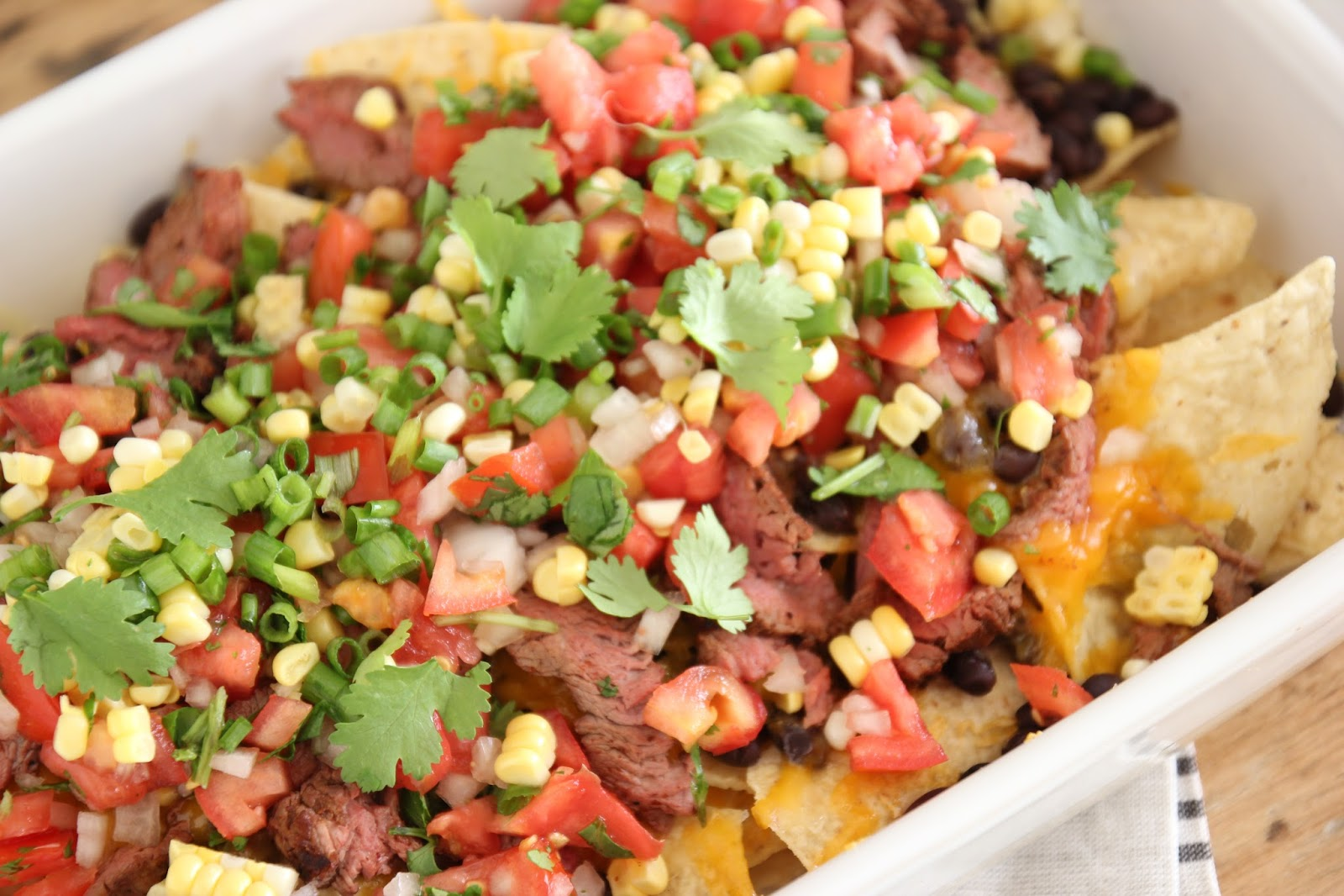 how to make steak nachos in the oven