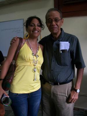 Con Eduardo Heras León
