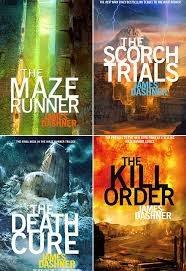 The maze runner  series by James Dashner