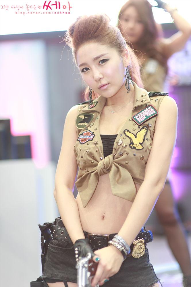 bang eun young sexy cosplay
