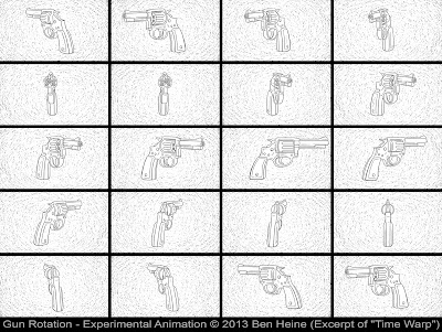 Time Warp Animation frames by Ben Heine - 2013