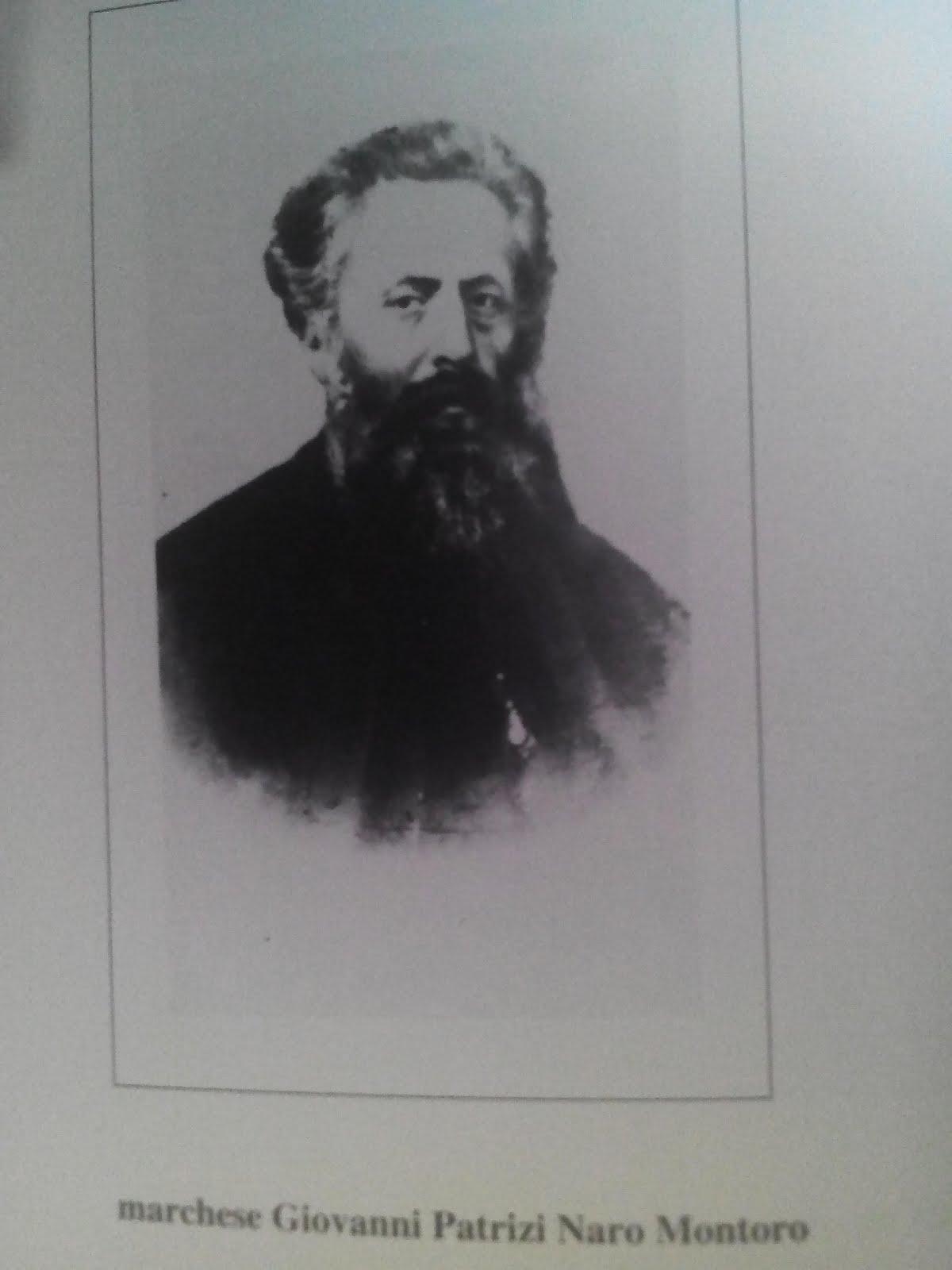 Patrizi Naro Montoro marchese Giovanni