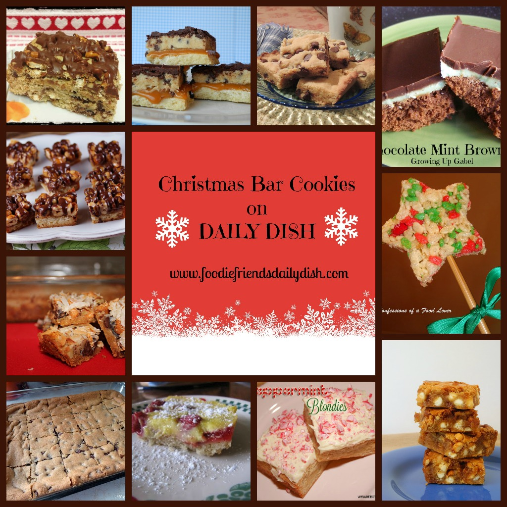 christmas bar cookies - Christmas Bar Cookies