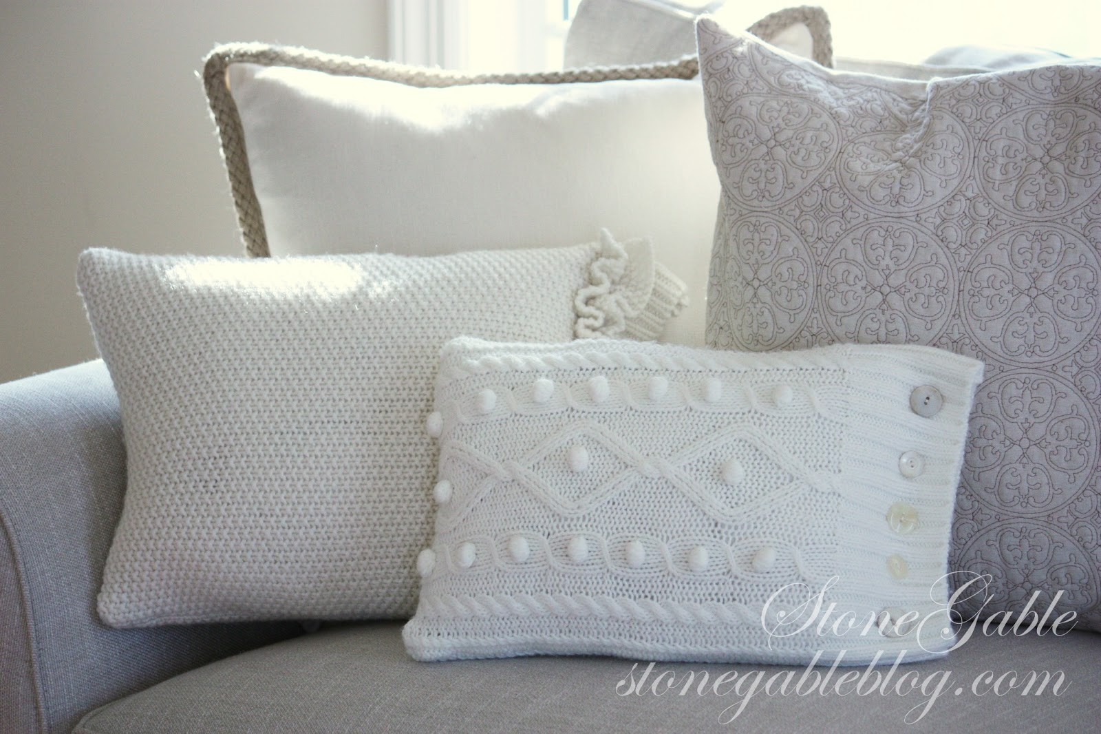 how to make watch pillows