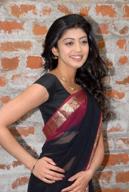 praneetha hot in black saree latest stills south indian