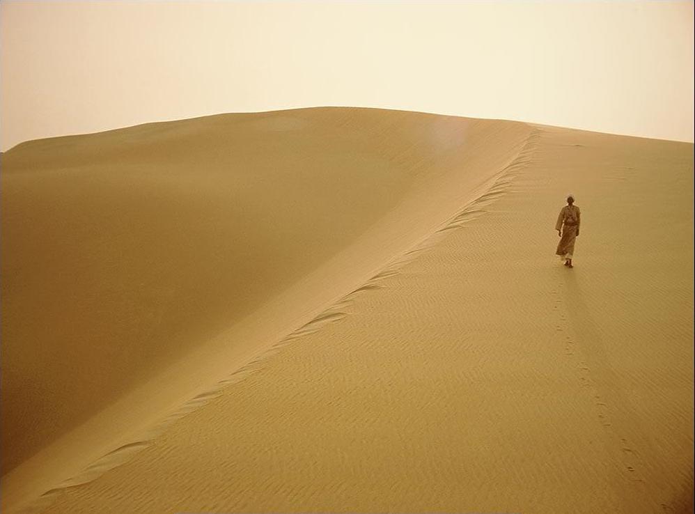 Isaac Bannour Berjalan Kaki dari Prancis ke Makkah untuk Umrah
