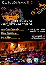 III ESTÁGIO DA ORQUESTRA DE SOPROS - GÓIS