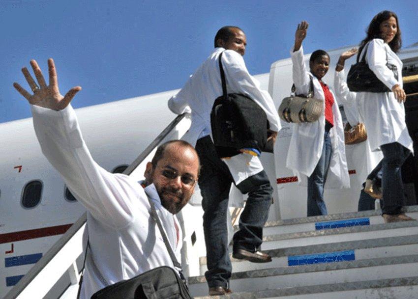 Cuba envía 2.000 médicos a Siria