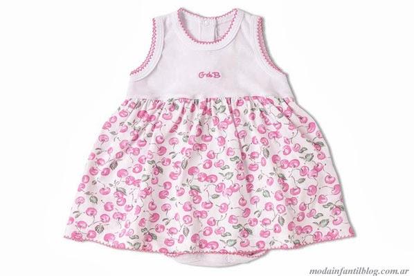 moda para niñas vestidos verano 2014