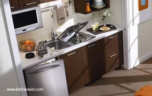 Arquitectura de casas lavavajilla integrado a la encimera - Lavavajillas de encimera ...