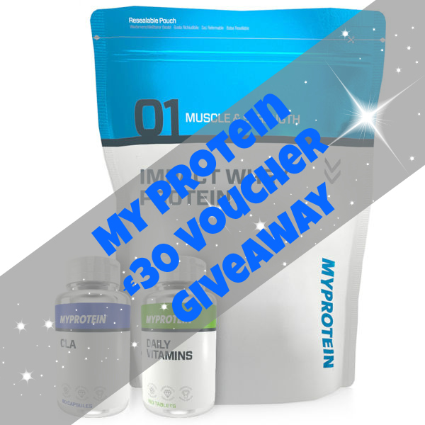 My Protein £30 Voucher Giveaway | The Road to Less Cake | #giveaway #competition #protein