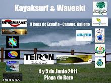 II Open Kayaksurf & Waveski Razo 2011