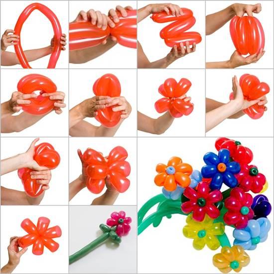 Фигурки из шаров своими руками пошаговая инструкция