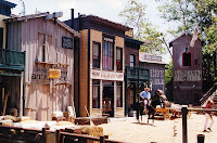 old western studio set