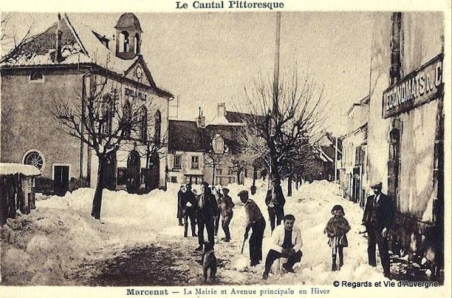 CPA Cantal : Marcenat.