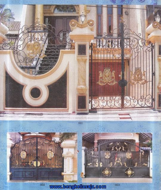 Kumpulan Desain Pagar Rumah Mewah Klasik Pagar Besi Tempa Ari Jaya