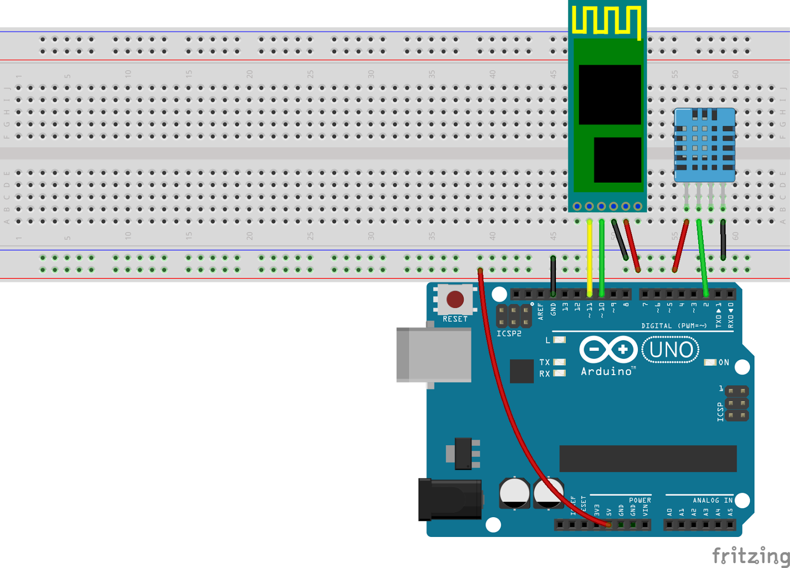 Arduino and HC-05 Bluetooth Module Tutorial Android