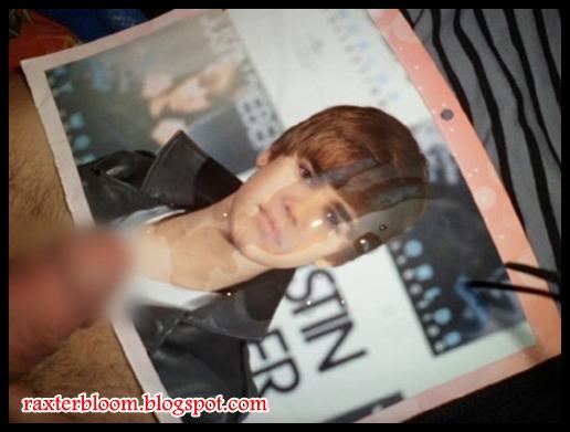 Orang yang Onani dengan Foto Justin Bieber - raxterbloom.blogspot.com