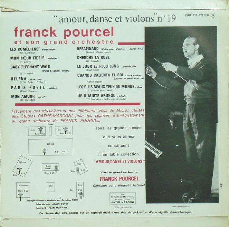 Franck Pourcel Et Son Grand Orchestre Franck Pourcel Et Son Grand Orchestra Autoroute A6