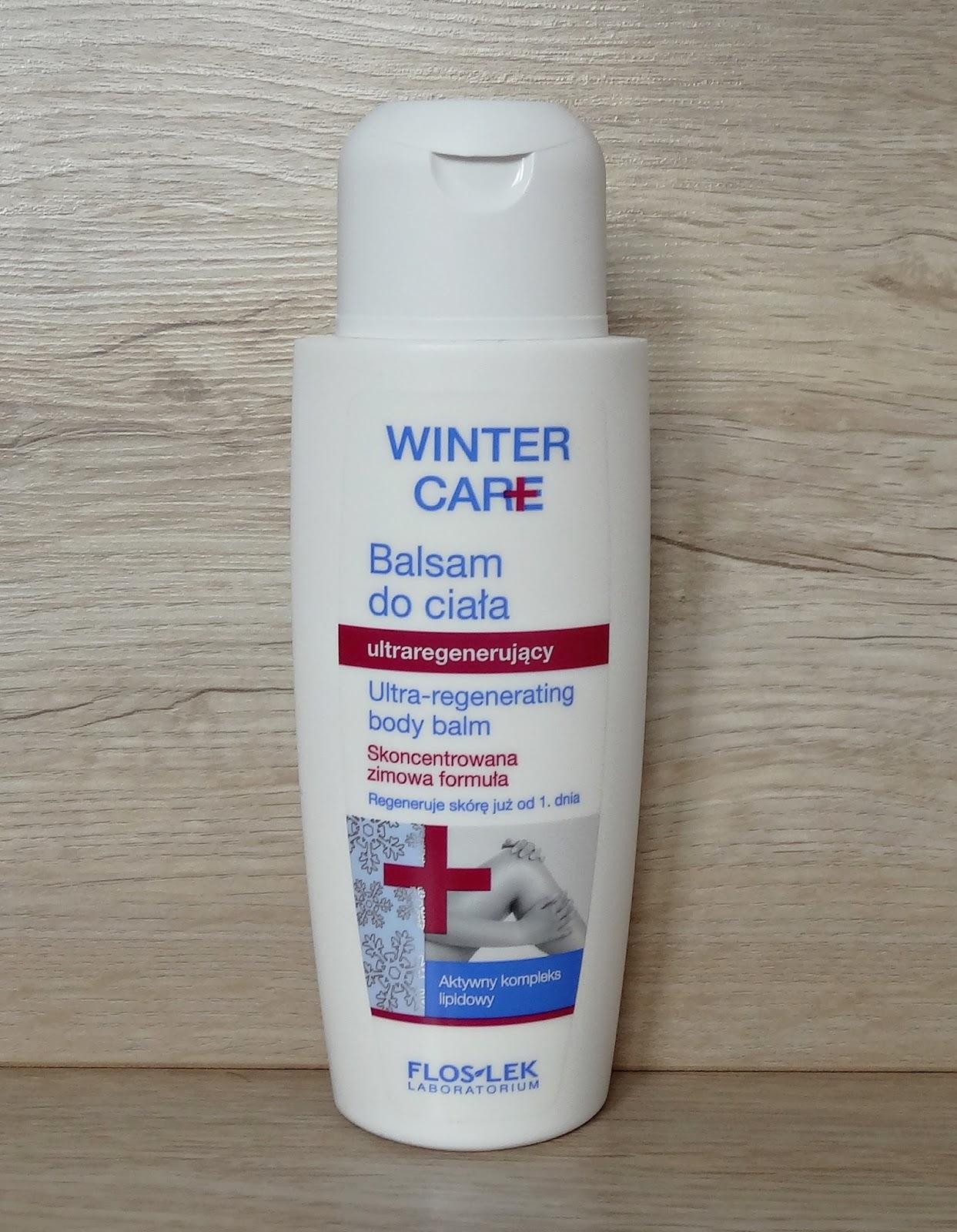 Flos Lek, Winter Care - ultraregenerujący balsam do ciała i krem zimowy do rąk i paznokci