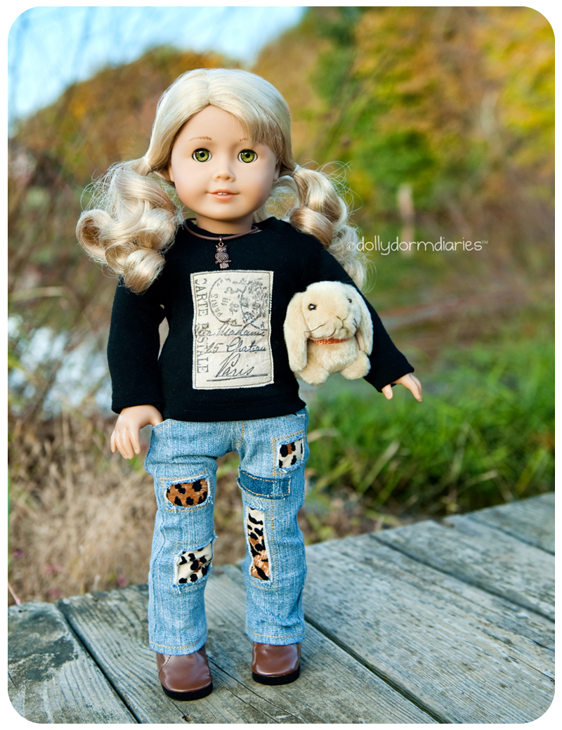 American Girl Doll of the Year, Lanie. Read 18 inch doll diaries at our American Girl Doll House. Visit our 18 inch dolls dollhouse!