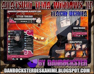 TEMAS de NARUTO PARA WINDOWS XP Y 7 ITATXPP
