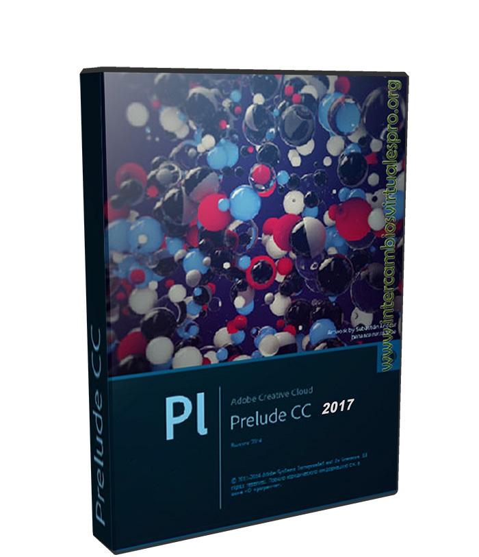Adobe Prelude CC 2017 v6.1.2.14 poster box cover