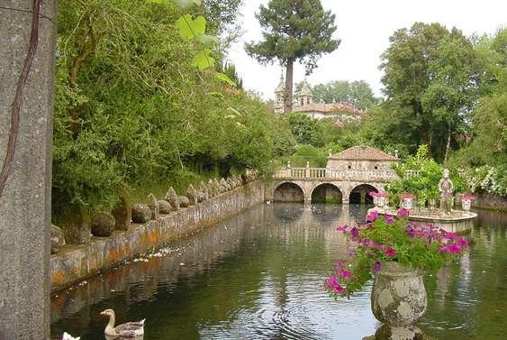 Pazo de oca for Jardines galicia