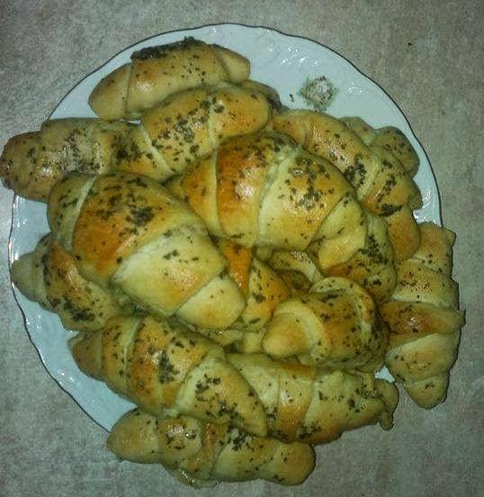 طريقة عمل ميني كرواسون , ميني كرواسون Mini croissant