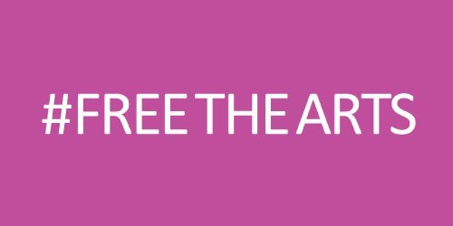 #freethearts hashtag
